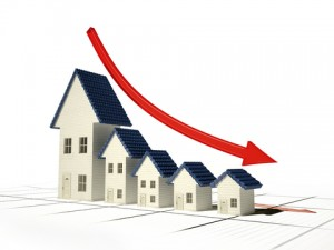 home sales down