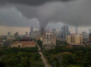 a tornado on dallas