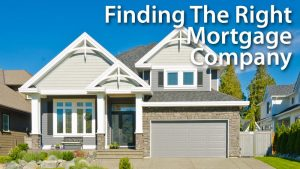 types of mortgage companies