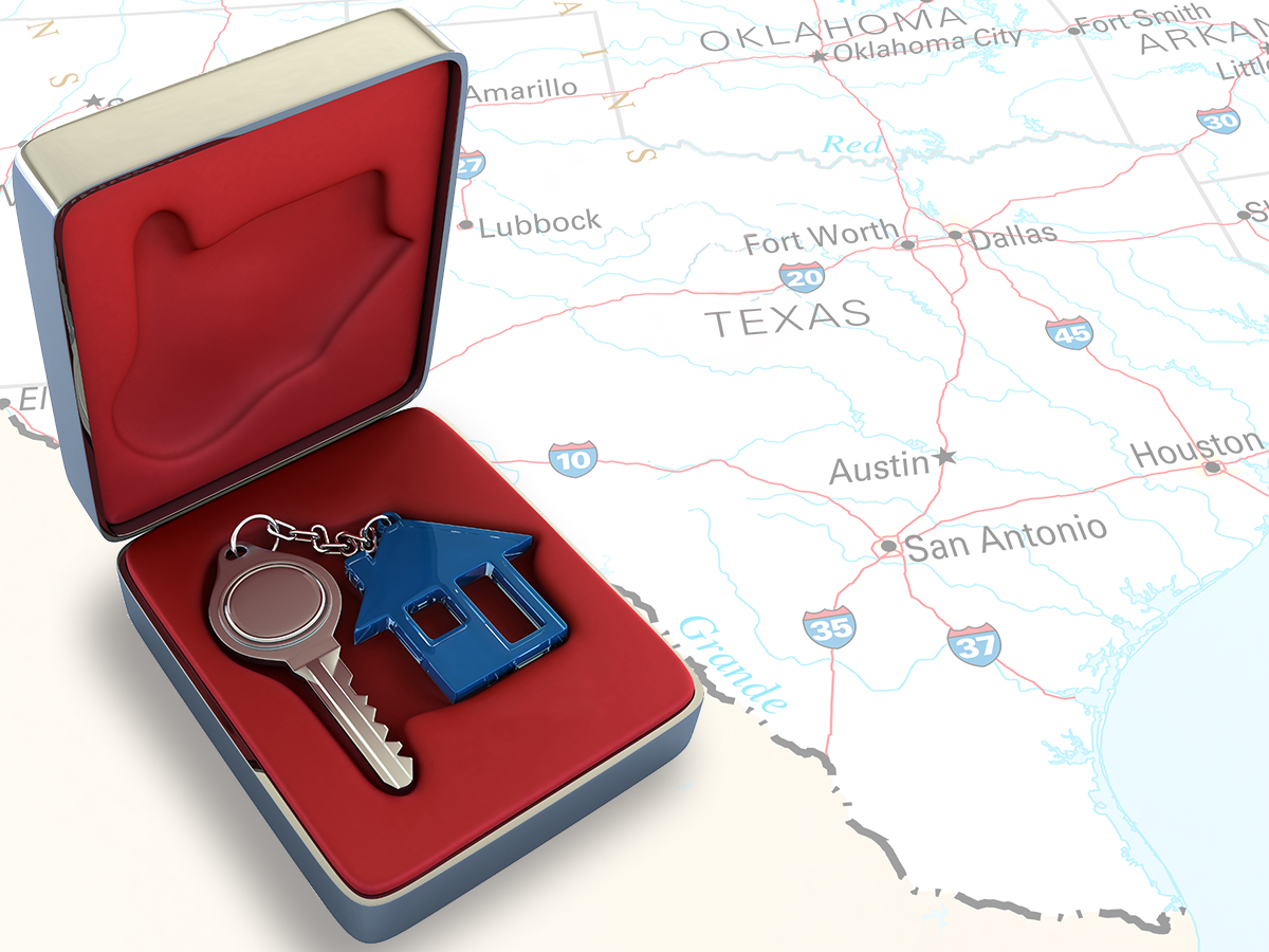 buy a home in texas