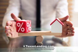 Mortgage interest rates in Texas.