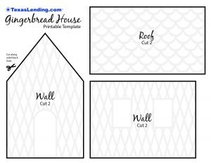 Gingerbread House Template Printable from www.texaslending.com