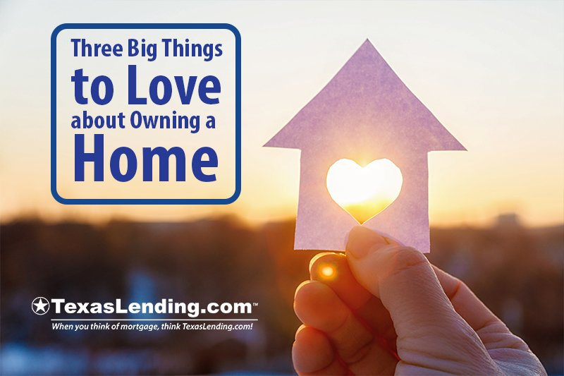 Big things to love about owning a home