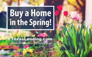 Buy a home in the spring