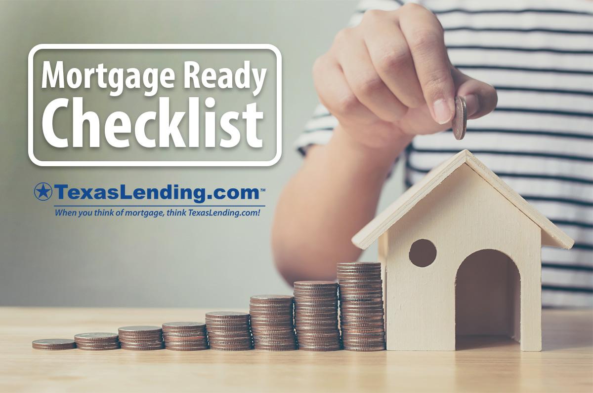 Mortgage Ready Checklist