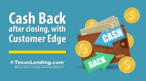 Cash Back with Customer Edge