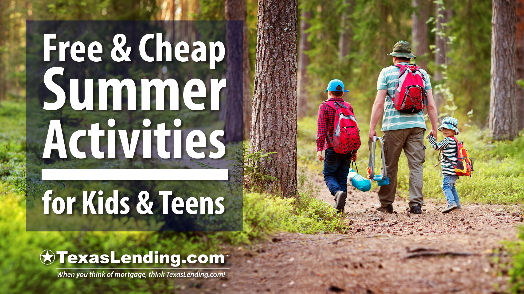 Summer Activities for Kids and Teens