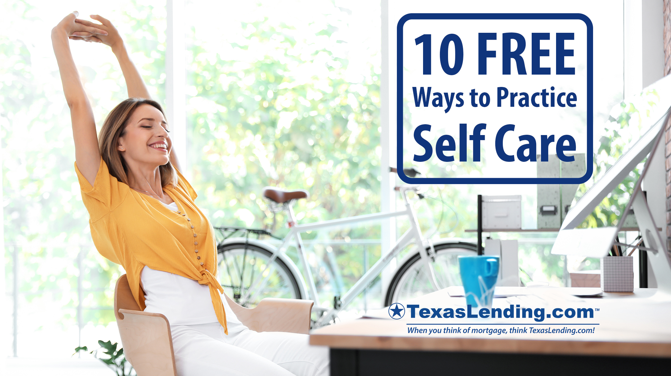 Free ways to practice self care during the day