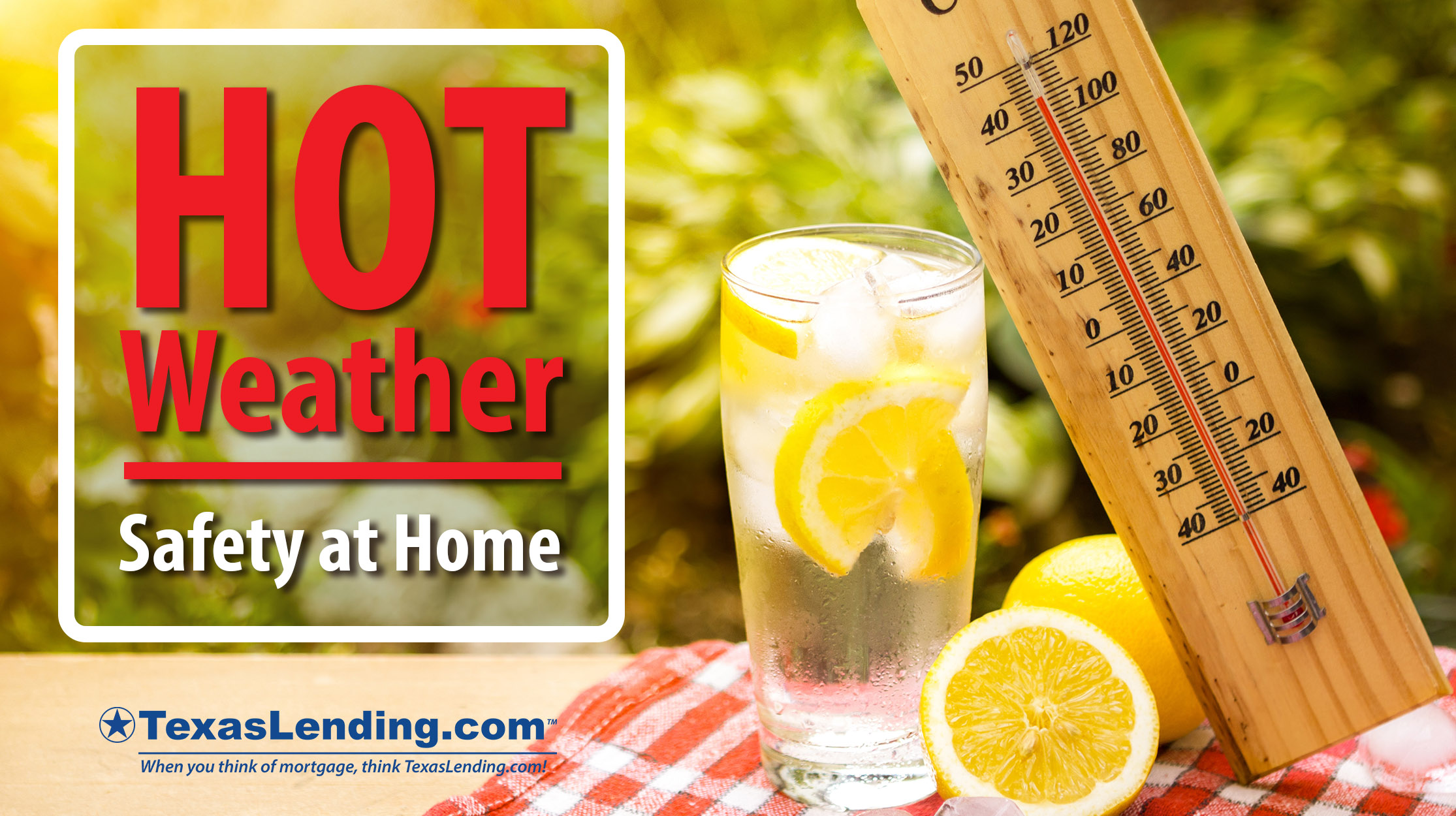 Hot Weather Safety at Home