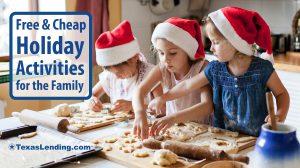 holiday activities