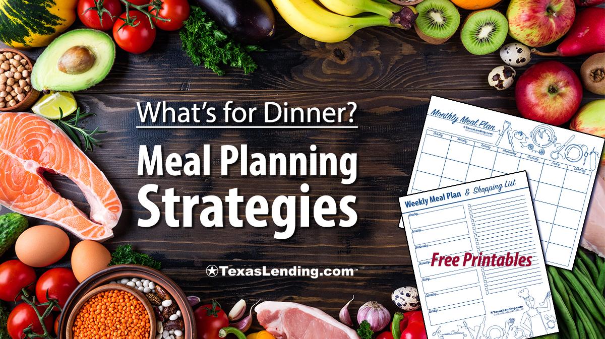 meal planning strategies
