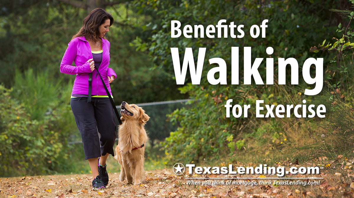 benefits of walking for Exercise