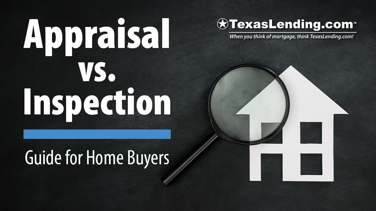 appraisal vs inspection