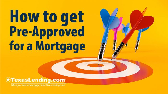 pre approved for a mortgage